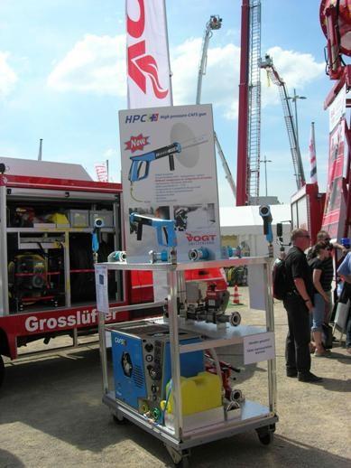 Система получения газонаполненной пены VOGT (Швейцария).