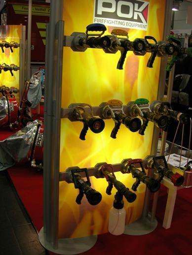 Ручные пожарные стволы POK (Франция).