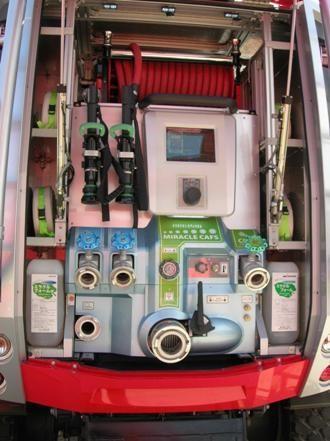 Система получения газонаполненной пены компрессорным способом Miracle CAFS.