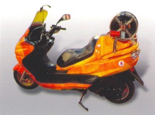 Пожарный мотоцикл SFFECO (ОАЭ).
